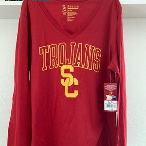 New USC Trojans Womens Sweatshirt 2XL
